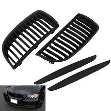 Front Kidney Grill Grilles For BMW E90 E91 Saloon 05-08 325i 328i 335i 4D Black
