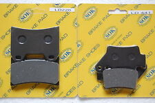 FRONT&REAR BRAKE PADS KTM SMC 625 640 660 Supermoto, 05-06 SMC625 SMC640 SMC660