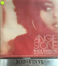 "ANGIE STONE -BLACK DIAMOND SAMPLER 12"" Funk Soul Vinyl Record Ex+"