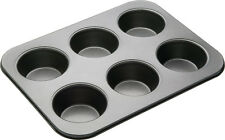 Master Class Non-Stick American Muffin Pan - 6 Hole (Free postage UK Mainland)
