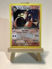 Team Rocket 1st Edition Dark Charizard Holo 4/82 Pokemon