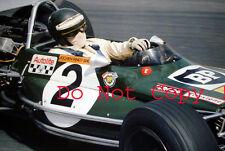 Jochen Rindt Lotus 69 F2 Winner Pau Grand Prix 1970 Photograph