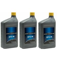For Set of 3 Quarts Bottle Auto Trans Fluid SP4-M Genuine for Hyundai Kia