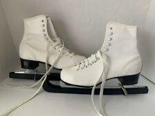 New listing Retro Imperial Women's White Ice Skates Size 6 Pre-Owned