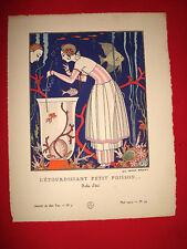 MODE FASHION COUTURE PRET A PORTER Gazette BON TON 1914 N° 5  BARBIER Pl. 44