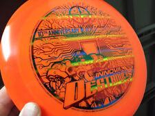 10th Anniversary Destroyer -Star- Rainbow On Orange - 175g - Collector Alert!