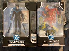 dc multiverse mcfarlane Flash & Nightwing