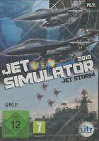 CD-ROM + Jet Simulator 2010 + Jet Storm + Win 7 +