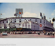 Vintage Tiger Stadium Color Photograph Detroit Tigers Baseball Stadium 1960 LOOK