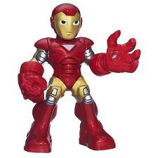 Marvel Super Hero Squad_IRON MAN 3_Battle Ready IRON MAN figure w/ Lights+Sounds