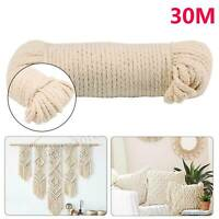 new 30M multi-purpose high quality natural cotton rope twine 4MM durable