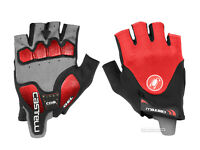 NEW Castelli ARENBERG GEL 2 Summer Cycling Gloves : BLACK/RED