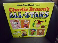Charlie Brown's All Stars Charles M Schulz vinyl LP 1978 United Records SEALED