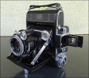 ANCIEN APPAREIL PHOTO SUPER IKONTA 531 OBJECTIF ZEISS OPTON TESSAR 1:3,5 f-75mm