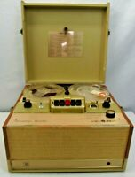Vintage Stereophonic 722 The Voice Of Music Reel to Reel Player Parts or Repair