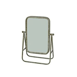 Industrial Rectangle Swing Mirror On Stand 28.5 cm by Originals