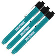 """Rayovac Retractable Pocket Flashlight, Green Pack of 3"""