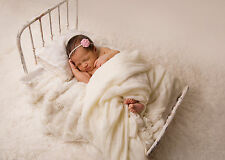 Newborn Photo Prop Bed Antique Style Iron Bed Shabby Chic Baby Photography