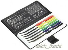 TSUBOSAN MA00600 Hardness Tester Checker File HRC40-HRC65 Set from JAPAN F/S