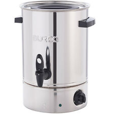 Burco Cygnet 30L HOT Water Urn Tea CATERING Boiler Manual Fill Stainless Steel