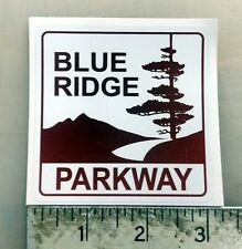 """Blue Ridge Parkway scenic byway sticker decal 3""""x3"""""""