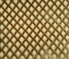 Kravet Couture Silk Elegance Cut Velvet Gros Point Fabric color Topaz 13 yards
