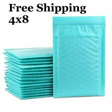 1 500 000 4x8 Teal Color Poly Bubble Mailers Fast Shipping