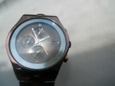 Fossil chronograph men's,quartz,battery,w-resist & Analog bronze watch.FS-4283