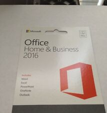 Microsoft Office 2016 Home and Business For 5 Mac's English, Lifetime
