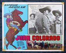 JUAN COLORADO Antonio Aguilar MARIA DUVAL CHARRO LOBBY CARD PHOTO 1965 VINTAGE