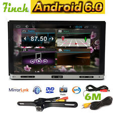 "Android 6.0 7"" 2Din InDash Car DVD Radio Stereo Player WiFi 3G GPS+Tablet+CAMERA"