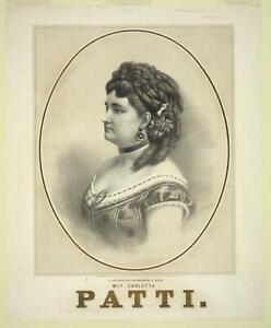 Photo:Mlle. Carlotta Patti,1840-1889,operatic soprano,opera singer 7818