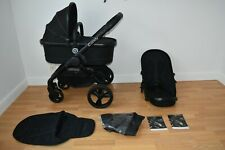 Travel System 2in1 iCandy Peach 3 in Jet Black inc Seat Liner