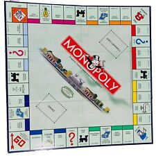 Monopoly Collectors Train Edition Game Board Replacement 2003