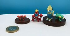 Pokemon Takara Tomy 1/40 Zukan, Yujin, Authentic Vintage, Electrike, Corphish +2