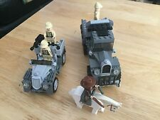 Lego Indiana Jones - 7622   Race for the Stolen Treasure No box Or Instructions