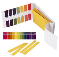 160 pH 1-14 Universal Lab Full Range Litmus Test Strips PH Meter Indicator(N)