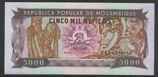Mozambique P-133a 5000 Meticais 1988 Unc