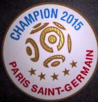 France Patch Badge LFP Ligue 1 maillot de foot du Paris.SG Champion 2015 15/16