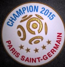 France Patch Badge LFP Ligue 1 maillot de foot du Paris.SG Champion 2015 15/16