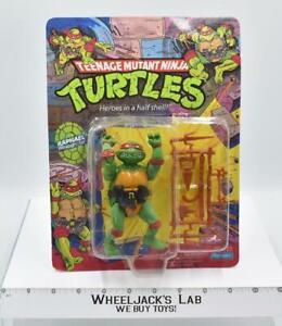 Raphael 10 Back UNPUNCHED NEW 1988 Teenage Mutant Ninja Turtles TMNT Playmates