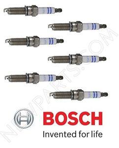 6-Pieces OEM Bosch Double Platinum Spark Plugs YR7MPP33 for Mercedes
