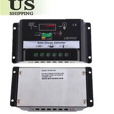 30A 12V 24V Auto Switch PWM Solar Panel Battery Regulator Charge Controller VIP