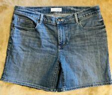 Ann Taylor Loft Jean Shorts Women's Size 8 Denim blue Mom shorts