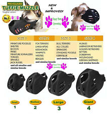 COMPLETE 4 Piece SET ProGuard TUFFIE DOG MUZZLES ALL MUZZLE/Breed SIZES Grooming