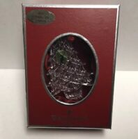 WATERFORD CRYSTAL 2006 CHRISTMAS TREE ORNAMENT WITH HANGER NEW IN BOX