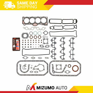 Full Gasket Set Fit 88-91 Toyota Geo Chevy 1.6L DOHC 4AGE
