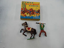 Timpo Toys - boxed metal cowboy with horse