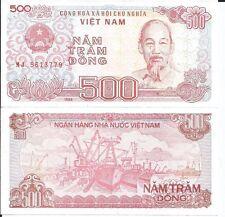 VIETNAM 500 DONG LOTE DE 10 BILLETES