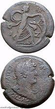 RARE ROMAN EGYPT ALEXANDRIA HADRIAN AE DRACHM YEAR 18 133-134 AD Isis Pharia